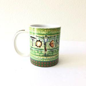 Other - NEW Cirque Du Soleil TOTEM Print Coffee Mug Cup